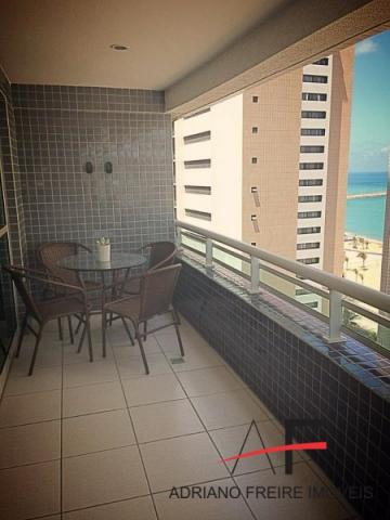 Apartamento todo mobiliado, no Beach Class Residence - Foto 3