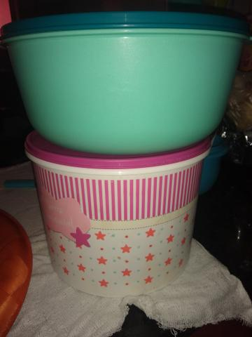 Kit com duas Tupperware lindas - Foto 3