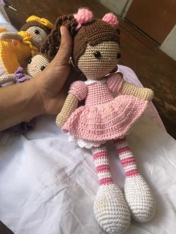 Boneca Amigurumi Em Croche - R$ 140,00 em Mercado Livre | 480x360