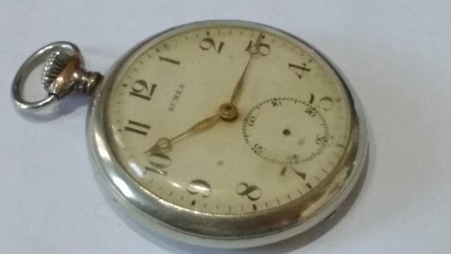 Relógio de bolso aurea - Foto 5
