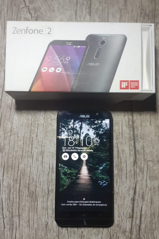Smartphone zenfone 2 32gb modelo ze551ml - Foto 2