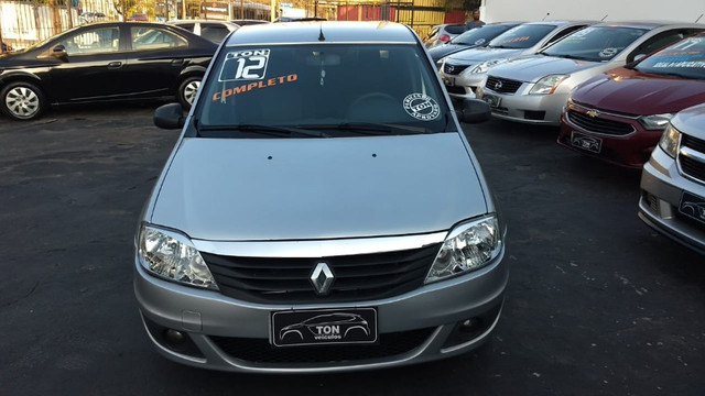 Renault Logan Expression 1.6 2012 Completo Impecável