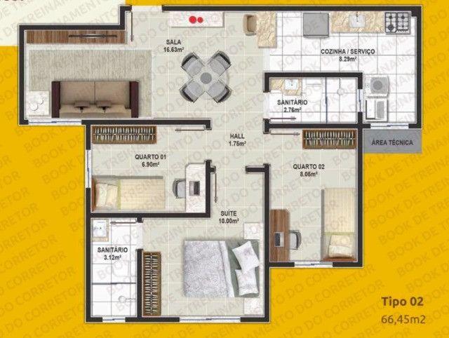 Apartamento de 3 quartos com suite no Candeias - Foto 12