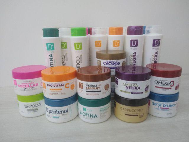 Kits D'oura Hair Profissional com 34 produtos!