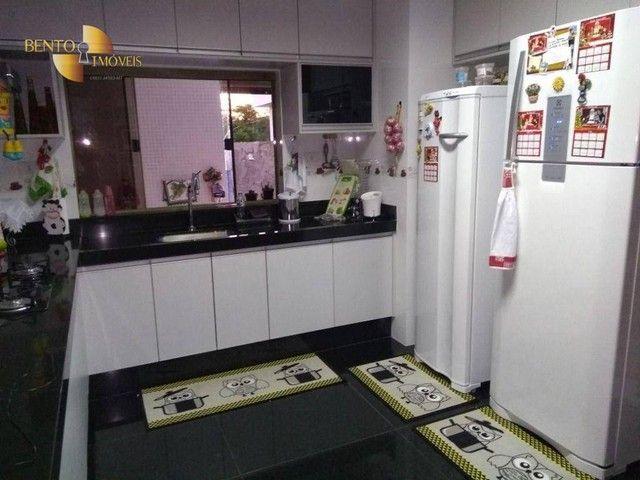 Casa com 5 dormitórios à venda, 490 m² por R$ 2.200.000,00 - Condomínio Florais Cuiabá Res - Foto 7