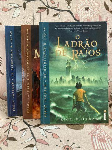Livros - Percy Jackson e os Olimpianos