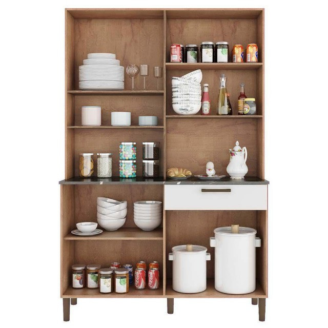 Armário de Cozinha Tannat 8 Portas