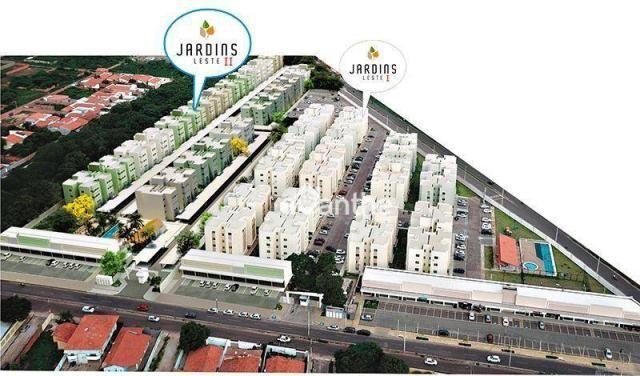 Apartamento com 3 dormitórios à venda, 59 m² por R$ 212.000 - Vale Quem Tem Zona Leste- Te - Foto 11
