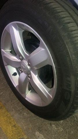 Jogo rodas Honda aro 15 com pneus - Foto 4