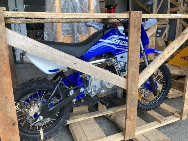 Minimoto TR100F Pro Tork 100cc aro 14/12 Motocross - Foto 6