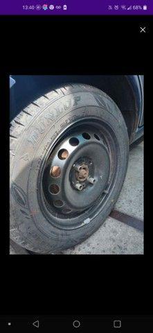 Roda com pneu - Foto 2