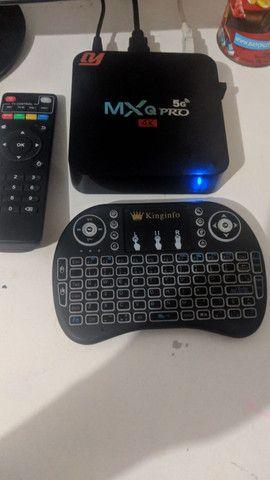 TV Box MXQ Pro + teclado wireless - Foto 2