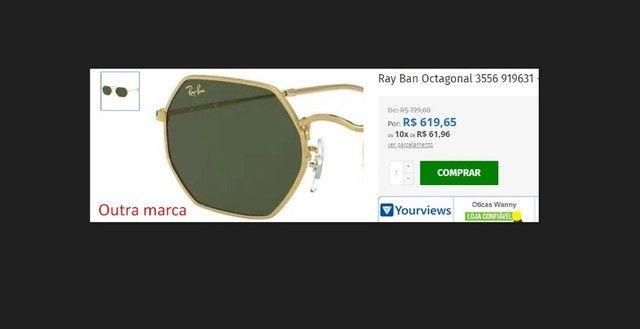 Óculos de Sol Tipo Rayban - Foto 3