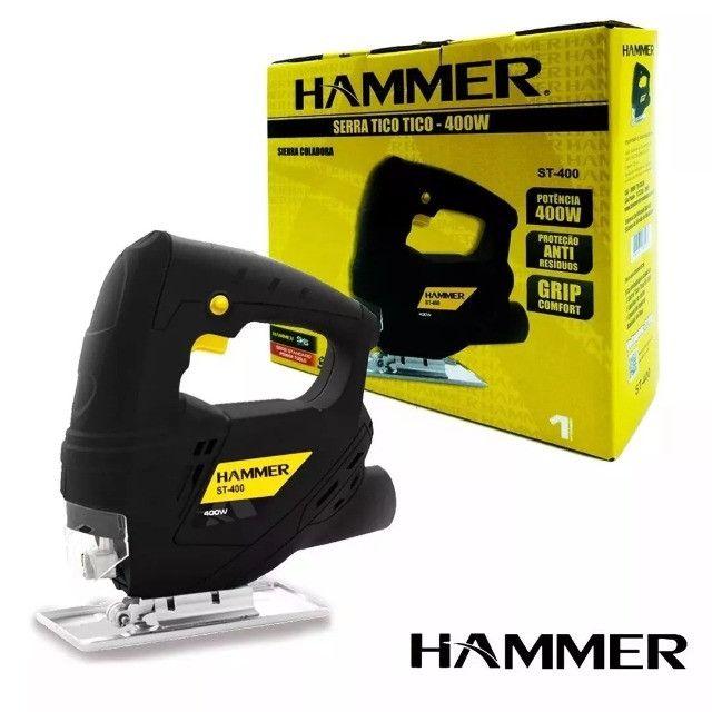 Serra Tico-tico Hammer 400w - Foto 3