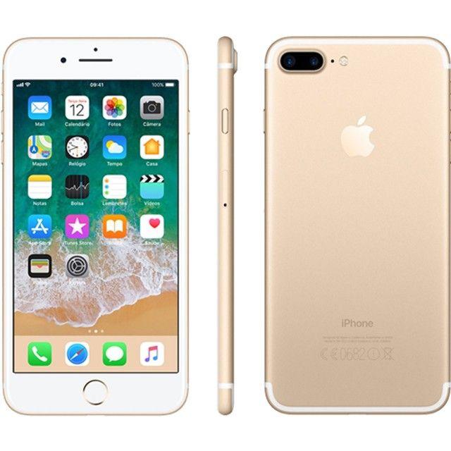 iPhone 7 Plus Dourado de 128 GB - Foto 5