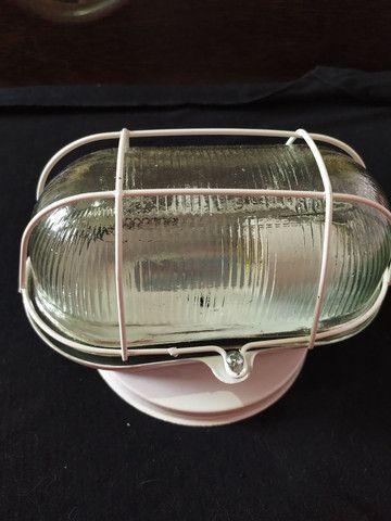 Luminária tartaruga de vidro