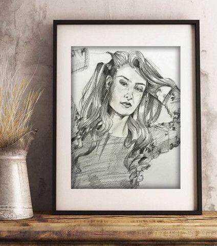 ?Retrato/ Desenho realista personalizado??? - Foto 3