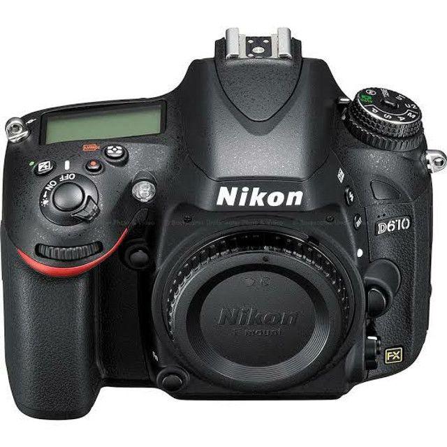 Camera digital DSLR NIKON d610 BODY nova (CONSULTE-NOS)