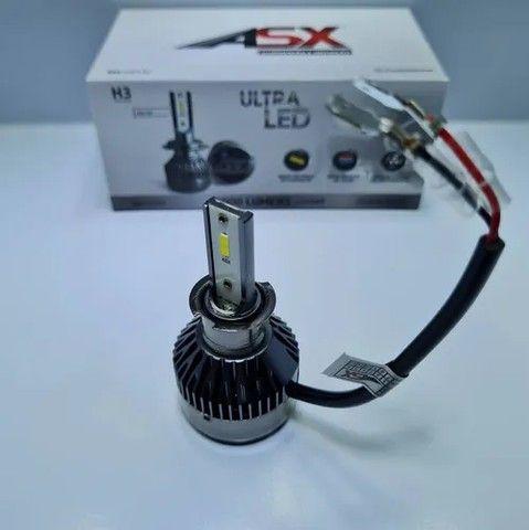 Kit de lampada ultra led ASX 8.000 lumens  - Foto 6
