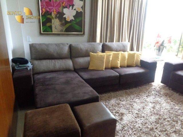 Casa com 5 dormitórios à venda, 490 m² por R$ 2.200.000,00 - Condomínio Florais Cuiabá Res - Foto 16