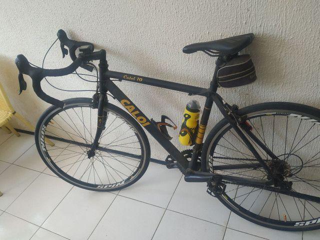 Caloi 10 NF + STI + Pedal Shimano