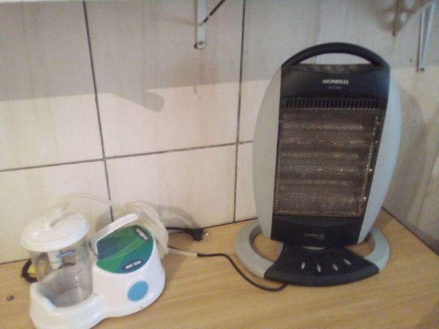 Humificador hospitalar ( secreção garganta/esterilizado) e um aquecedor giratória  - Foto 6