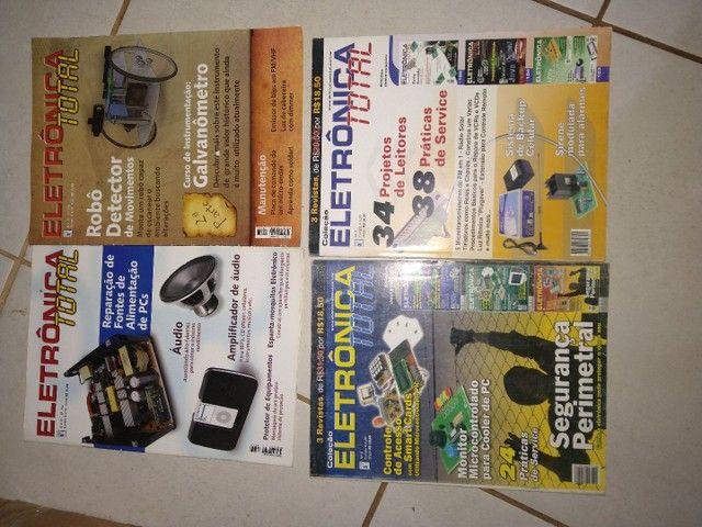 Revistas de eletrônica  - Foto 6
