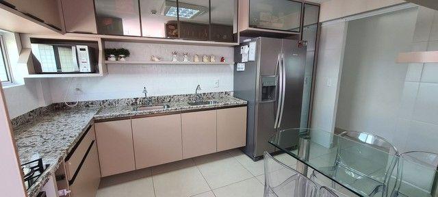 Excelente Apartamento Andar Alto com 3 suítes 141 m2 Lagoa Nova  - Foto 8