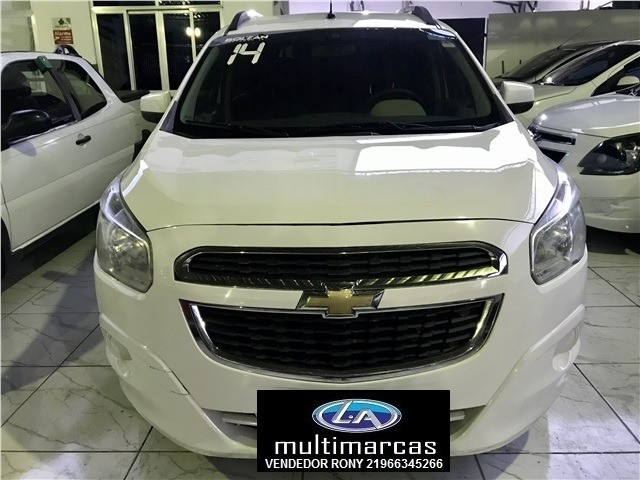 Gm Chevrolet Spin LT 1.8 Aut. 2014 + GNV. Entrada a partir de 8.500,00 + 48x de 699,99 - Foto 2