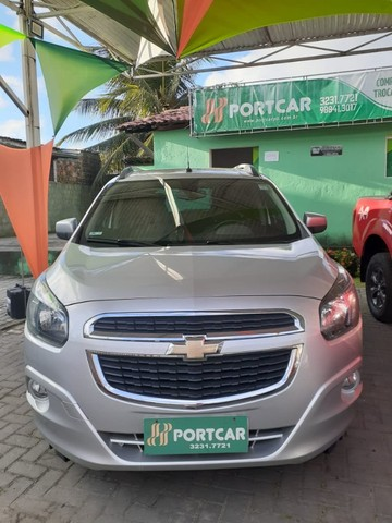 Chevrolet Spin 1.8 AUT. LTZ 2018 7 Lugares - Completo!!