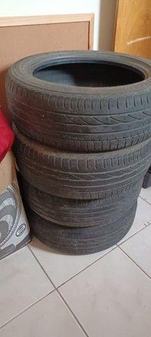 2 pneus Turanza, 185/55 R16, meia vida, com apenas 30 mil km rodados. - Foto 2