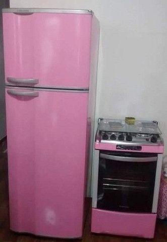 Envelopamento de fogão