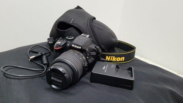 Câmera Nikon D3200 + Lente, MENOS DE 3 MIL CLIQUES! - Foto 4