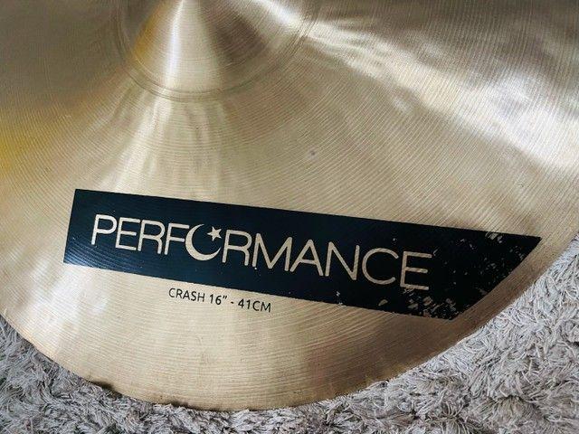 Prato Crash Bronz Performance 16? - Pra Hoje  - Foto 2