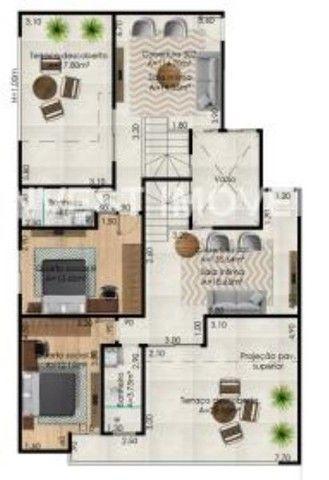 Apartamento à venda com 3 dormitórios em Santa maria, Juiz de fora cod:17650 - Foto 5