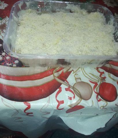 Pratos por encomenda, panquecas, macarrão de abobrinha, feijao branco com camarão