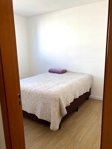 Apartamento novo com 2 dorm. semi-mobiliado, decorado pronto pra morar - Areis-São José - Foto 9