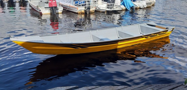 Canoas em alumínio naval  - Foto 12