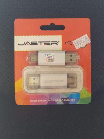 PENDRIVE JASTER 64GB TYPE C / USB - Foto 4