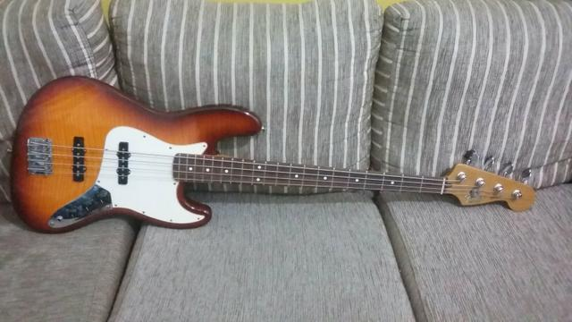 Fender Jazz Bass Mexicano Flamed Maple 812607094541607