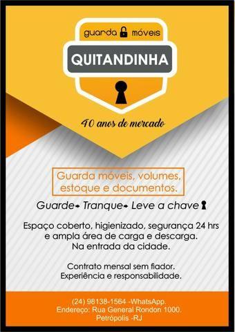 Guarda Móveis Quitandinha -Estoque- Documentos- 40 anos atuando em Petrópolis - Foto 2