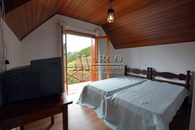 Casa em condomínio , 3 dorm + 3 quartos externos, linda vista com churrasqueira - Foto 17