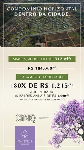 Condôminio Horizontal de Lotes Parqville Jacarandá ( Aparecida dr Goiânia) - Foto 12