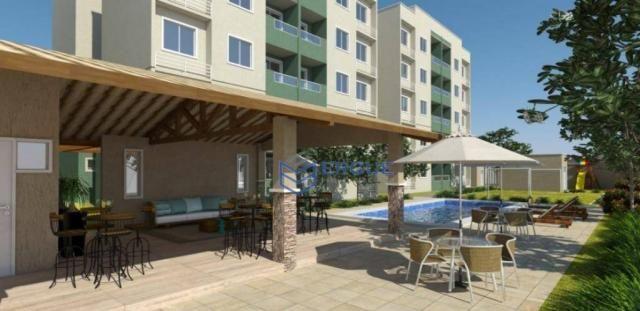 Apartamento residencial à venda, Lagoa Redonda, Fortaleza. - Foto 3
