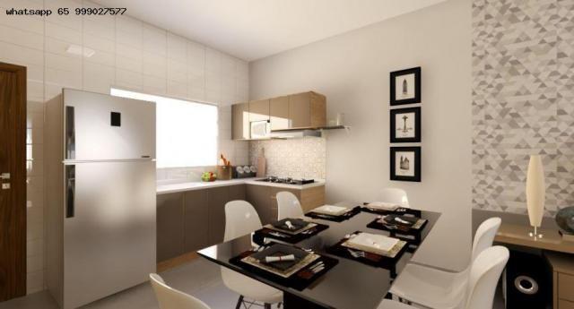 Casa para Venda em Várzea Grande, Nova Fronteira, 2 dormitórios, 1 banheiro, 1 vaga - Foto 2