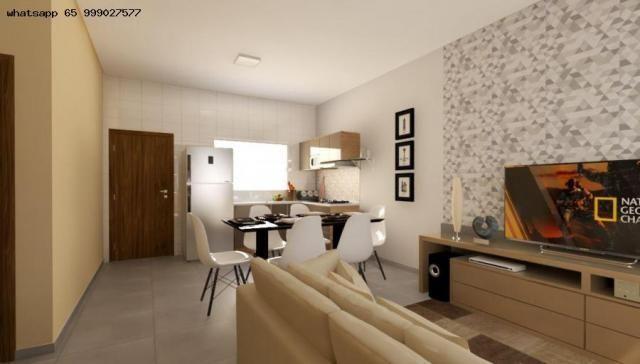 Casa para Venda em Várzea Grande, Nova Fronteira, 2 dormitórios, 1 banheiro, 1 vaga - Foto 6