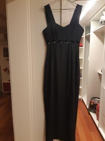 Vestido longo preto Tam 38/40 - Foto 5