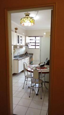 Cobertura com 3 dormitórios para alugar, 256 m² por r$ 5.000/mês - canto do forte - praia  - Foto 10