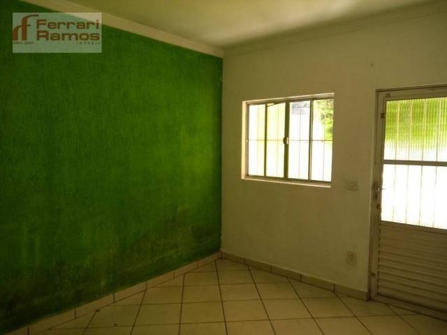 Casa com 3 dormitórios para alugar, 80 m² por r$ 1.350,00/mês - jardim presidente dutra -  - Foto 6