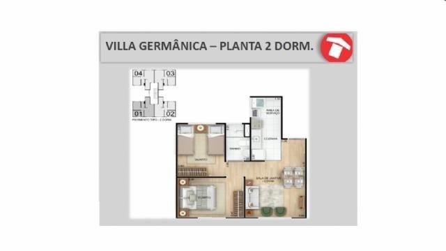Apartamento à venda com 2 dormitórios em Santos dumont, São leopoldo cod:V00158 - Foto 4